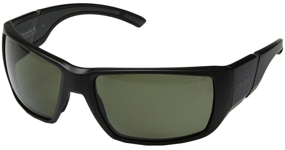 6776892c88 Lyst - Smith Optics Transfer Xl (matte Tortoise brown Chromapoptm Polarized  Lens) Athletic Performance Sport Sunglasses in Black for Men