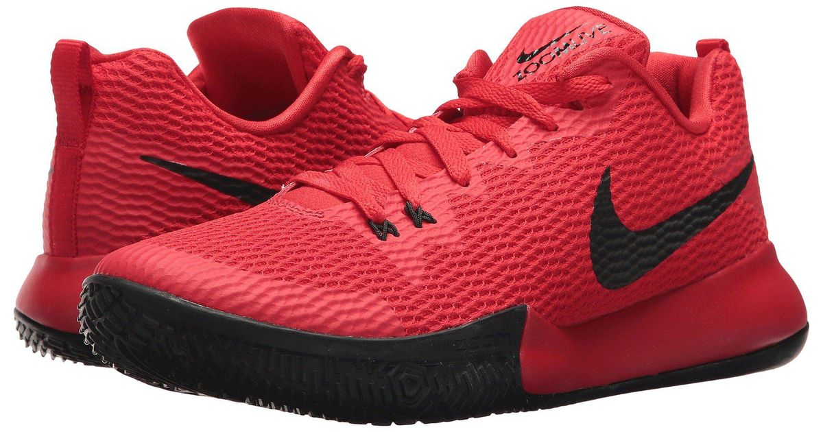 9b265d7f8307 Lyst - Nike Zoom Live Ii Multisport Indoor Shoes in Red for Men