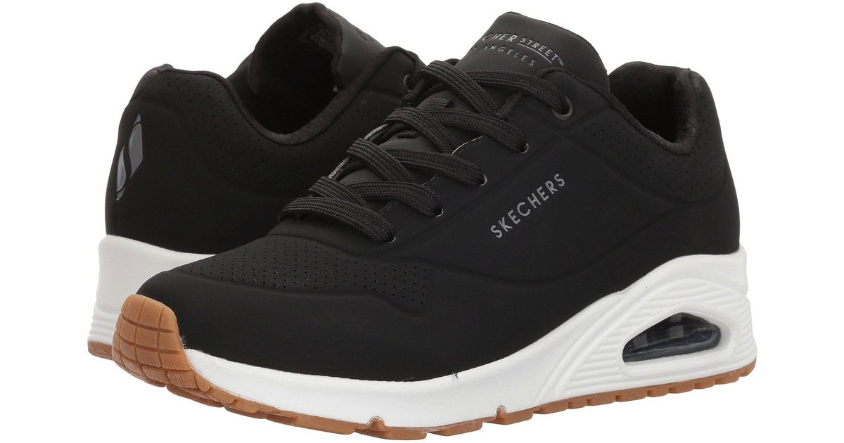 8669792967f5 Lyst - Skechers  s Uno -stand On Air Trainers in Black