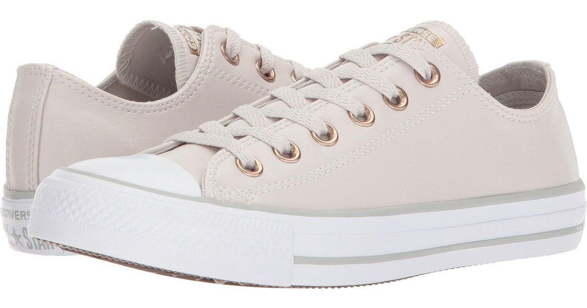 Chuck Taylor® All Star Craft Neutral Leather Ox Converse pXba4hPKo