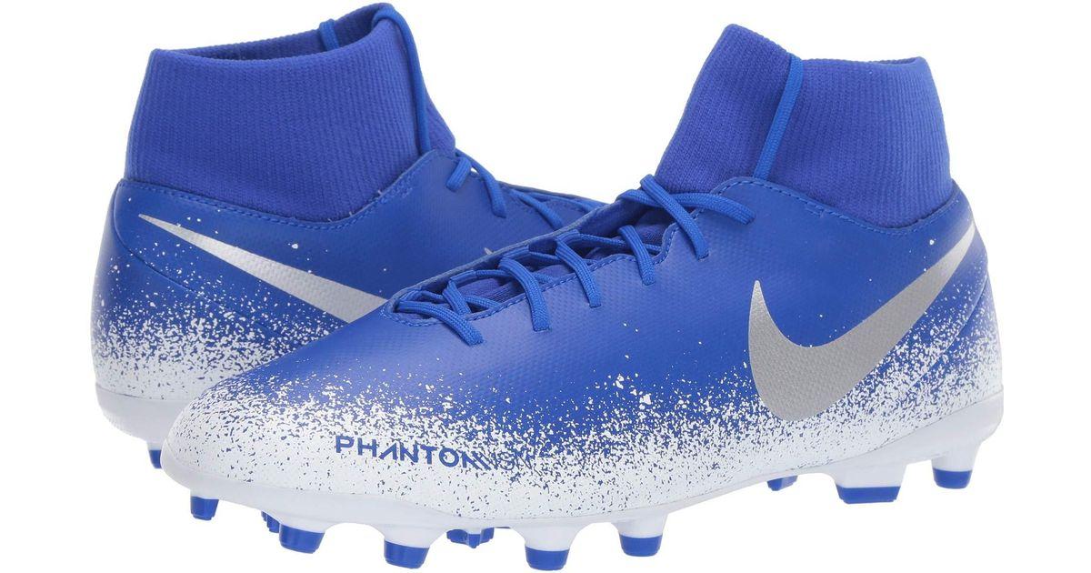 info for 8bd6e f3e9e Lyst - Nike Phantom Vsn Club Df Mg (racer Blue racer Blue black) Men s  Soccer Shoes in Blue for Men
