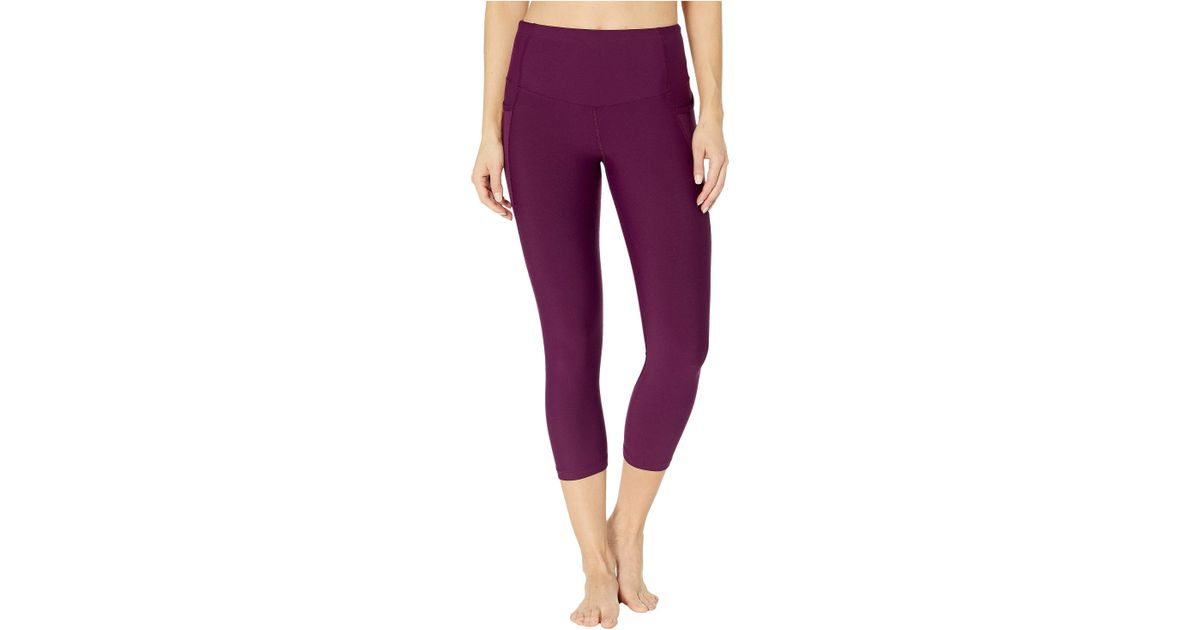 c05b458ad0bb9 Lorna Jane Move Freely Core 7/8 Tights (deep Mulberry) Women's Workout in  Purple - Lyst