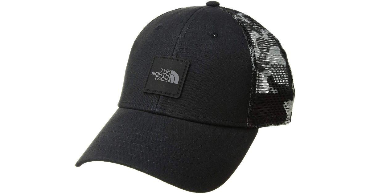 89fd2cf28a404 The North Face Mudder Novelty Mesh Trucker Hat (moab Khaki Woodchip Camo  Desert Print) Caps in Black for Men - Lyst