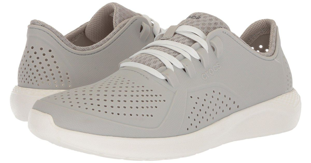 2f2d13c78c97fc Lyst - Crocs™ Literide Pacer (black white) Men s Shoes in White for Men -  Save 24%