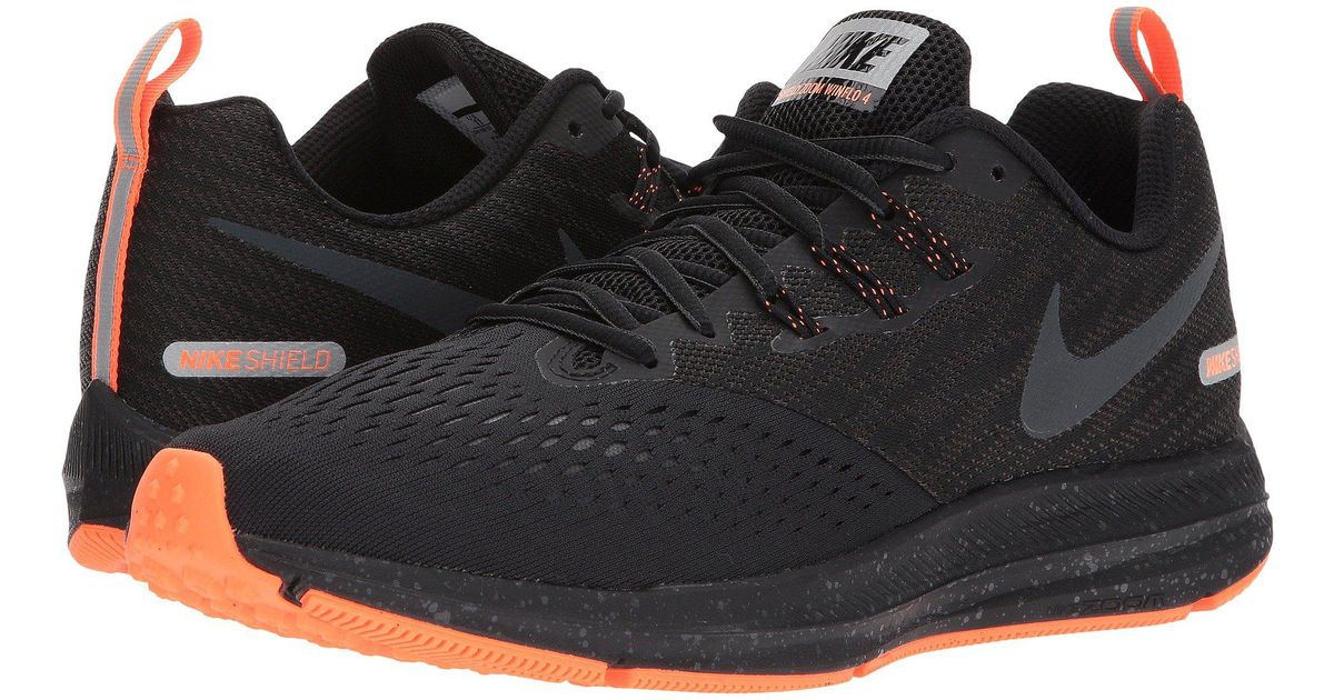 9409ab0b68fb Lyst - Nike Air Zoom Winflo 4 Shield in Black for Men