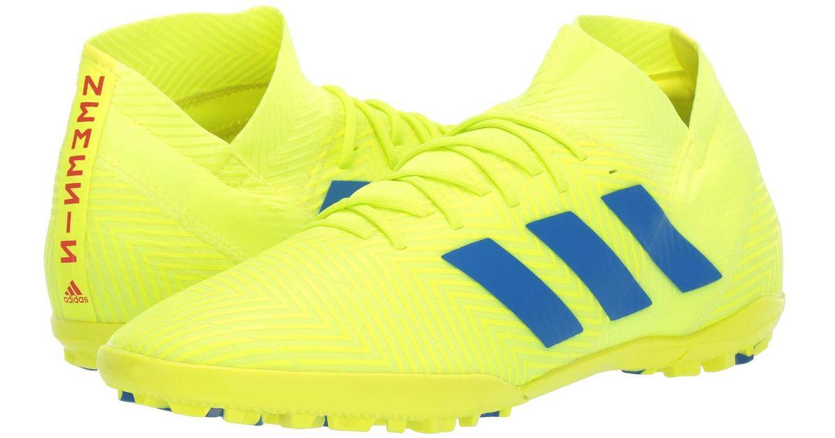 d63a7c3d0 adidas Nemeziz 18.3 Tf (solar Yellow football Blue active Red) Men s Soccer  Shoes in Yellow for Men - Lyst