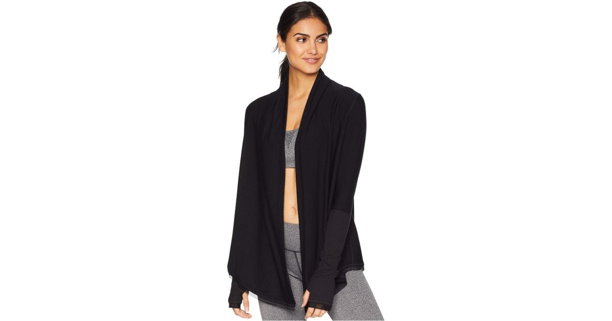 3337f1fa0127 Lyst - Alala Jet Set Cardigan in Black