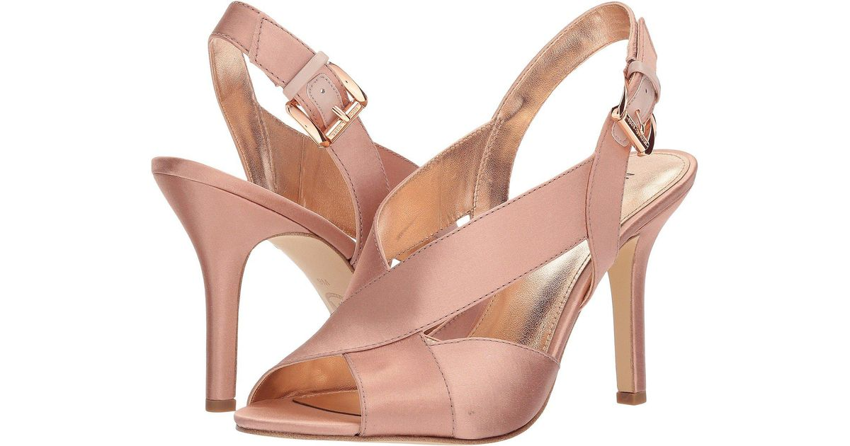446c33cdecc6 Lyst - MICHAEL Michael Kors Becky Sandal (black Smooth Calf) Women s Dress  Sandals in Pink