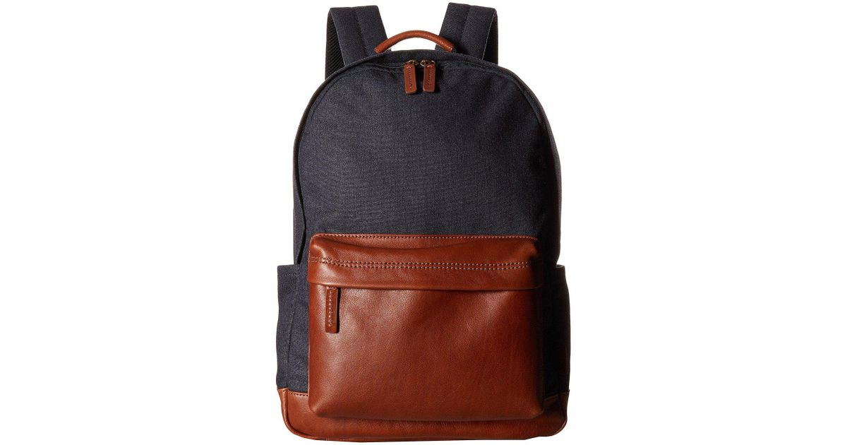 Lyst - Fossil Buckner Backpack in Blue for Men c830cbf9845a0