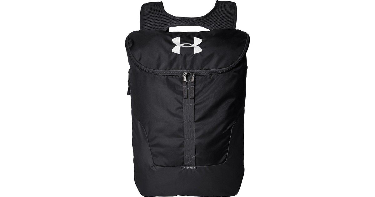 2d9254756f869 Under Armour Ua Expandable Sackpack in Black for Men - Lyst