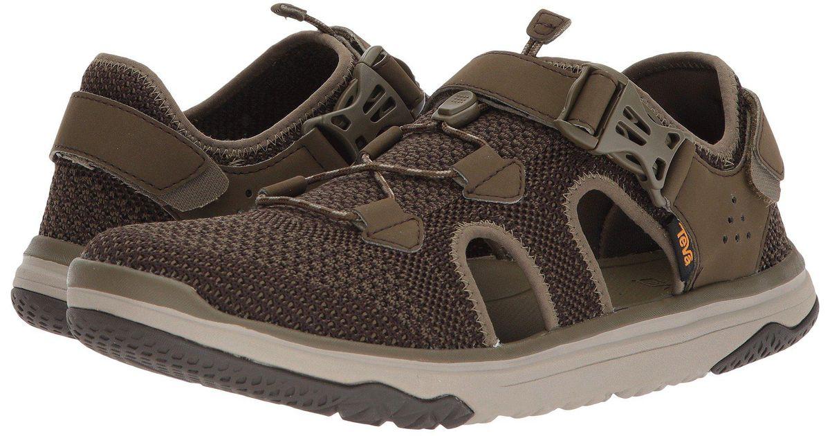 e463175cc119 Lyst - Teva Terra-float Travel Knit (dark Olive) Men s Shoes in Green for  Men - Save 49%