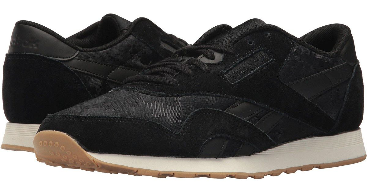 db8f36f50187a Lyst - Reebok Classic Nylon Sg in Black for Men