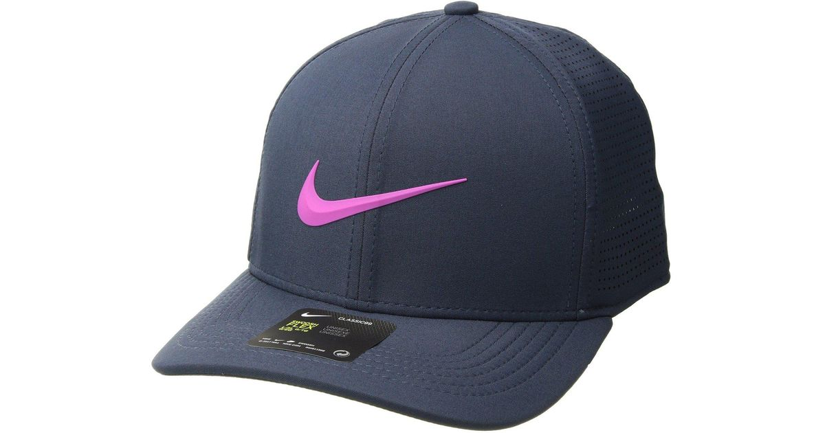 d08235bc8 Nike - Aerobill Clc99 Cap Perf (blue Nebula/anthracite/white) Caps for Men  - Lyst