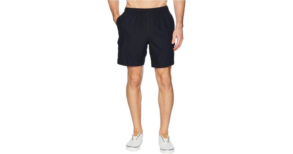 52b02e2c41 Lyst - Quiksilver Balance Volley Swim Shorts 18 (black) Men's Swimwear in  Black for Men