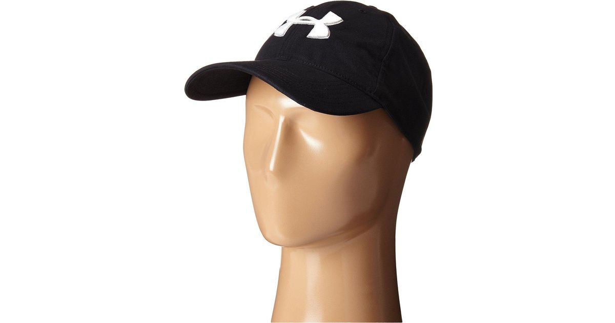 Lyst - Under Armour Ua Chino Cap in Black for Men 239628270760