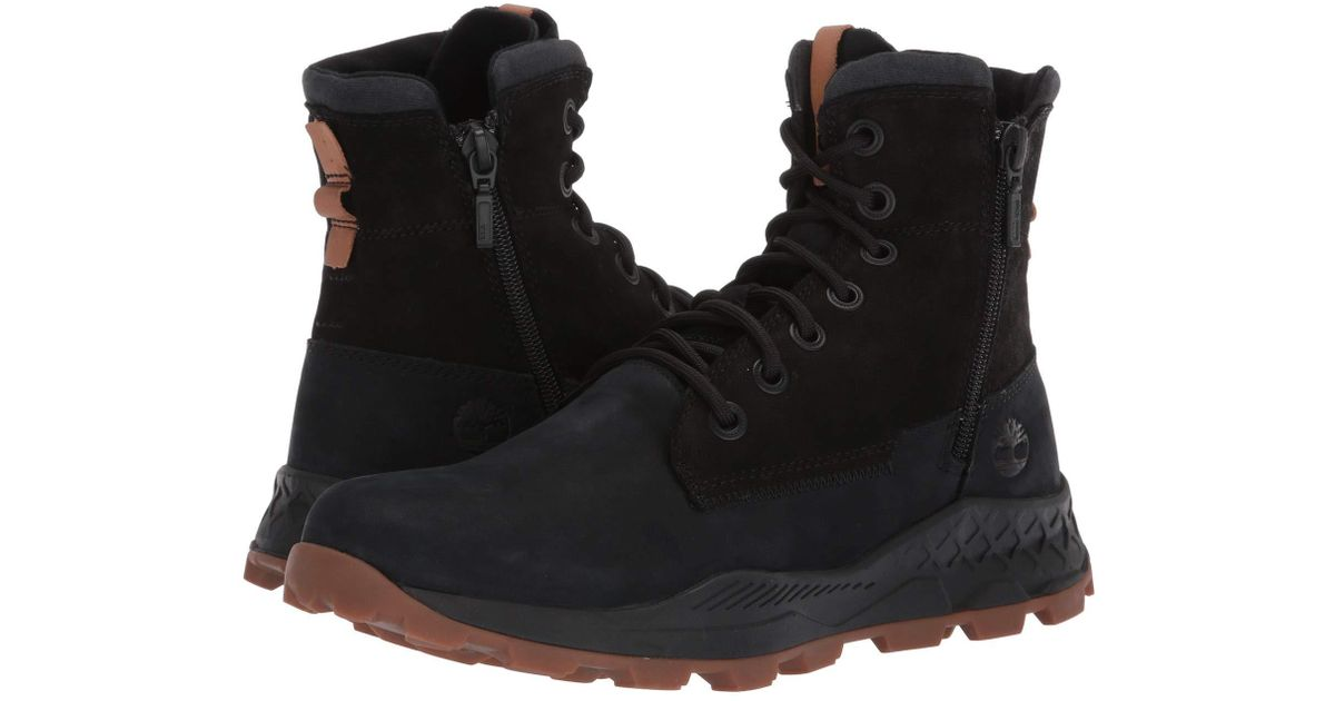 Shoptagr | Timberland Brooklyn Side Zip Boots In Black by
