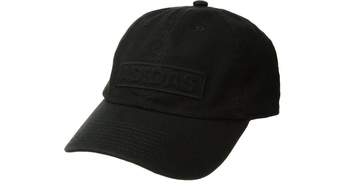 f0361082ea7 Lyst - adidas Ultimate Plus Cap (black) Caps in Black for Men
