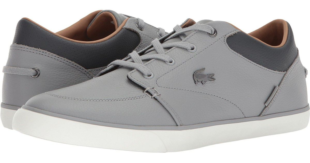b20682e9c Lyst - Lacoste Bayliss 118 1 (navy off-white) Men s Shoes in Gray for Men