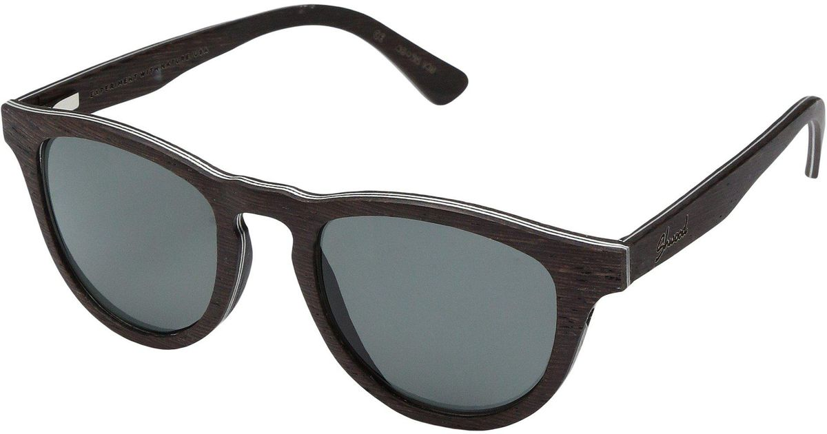 0a4048d18366 Lyst - Shwood Francis Wood Sunglasses - Polarized in Gray