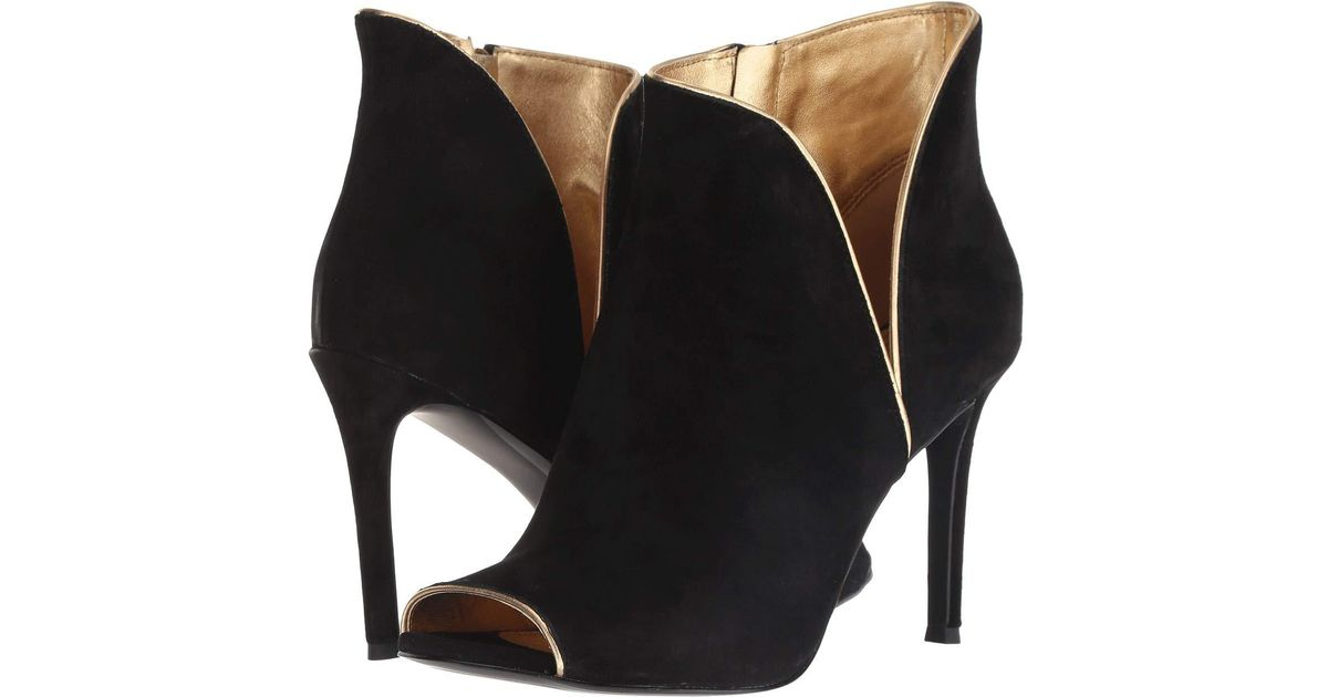 96e770dac MICHAEL Michael Kors Harper Heeled Shoe Boots in Black - Save 57% - Lyst