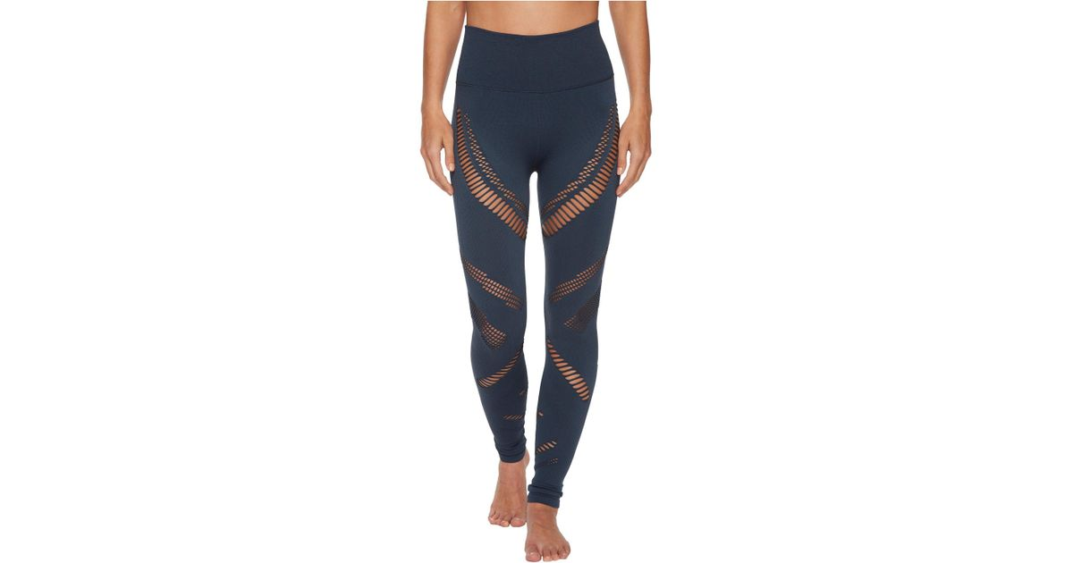 b839e2a8e79a7a Alo Yoga High-waist Seamless Radiance Leggings in Blue - Lyst