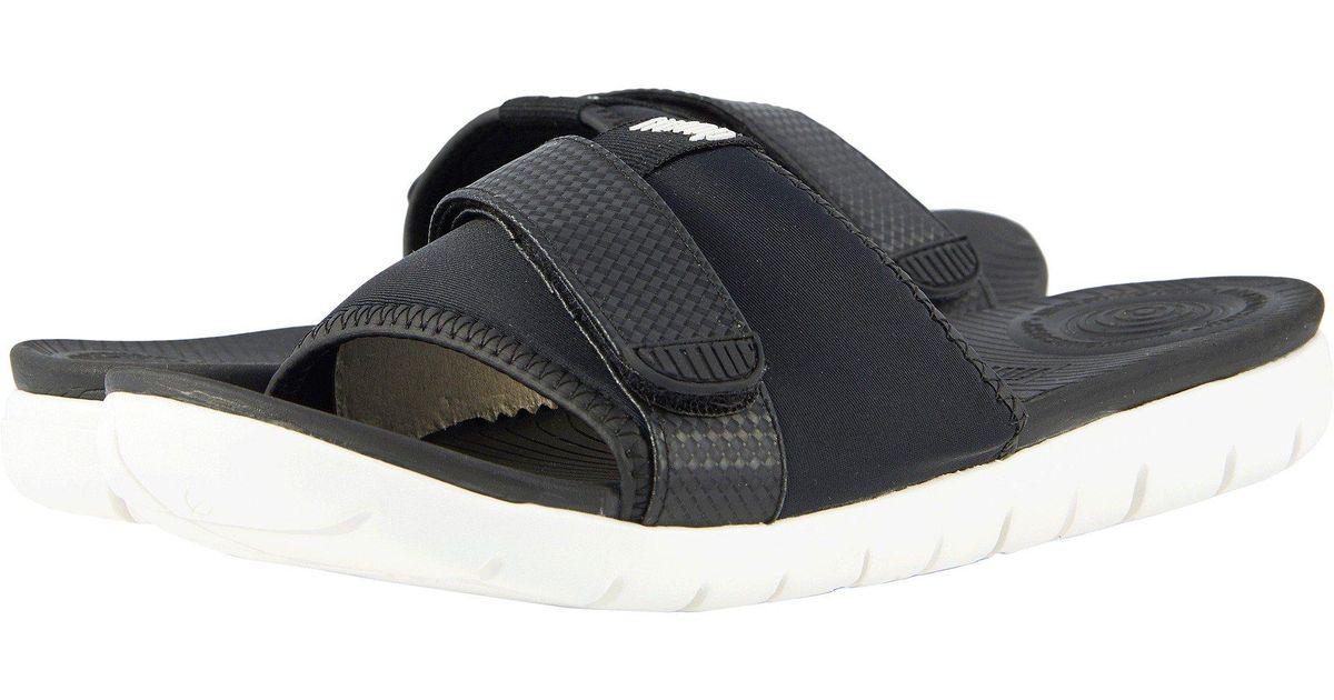 ac24b923dfbb Lyst - Fitflop Neoflex Slide Sandals in Black