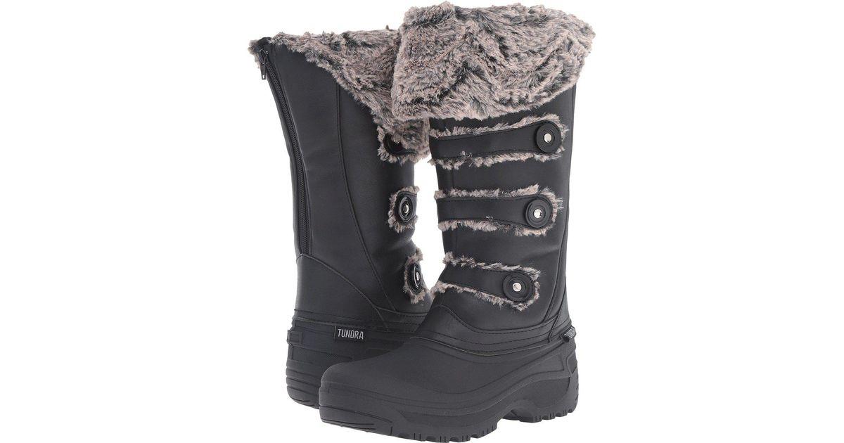68d8deb773377 Lyst - Tundra Boots Ella in Black
