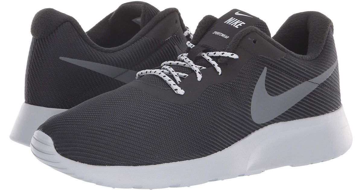 sale retailer 94fa1 5d4a0 Nike Tanjun Se (black dark Grey wolf Grey) Men s Running Shoes in Gray for  Men - Lyst