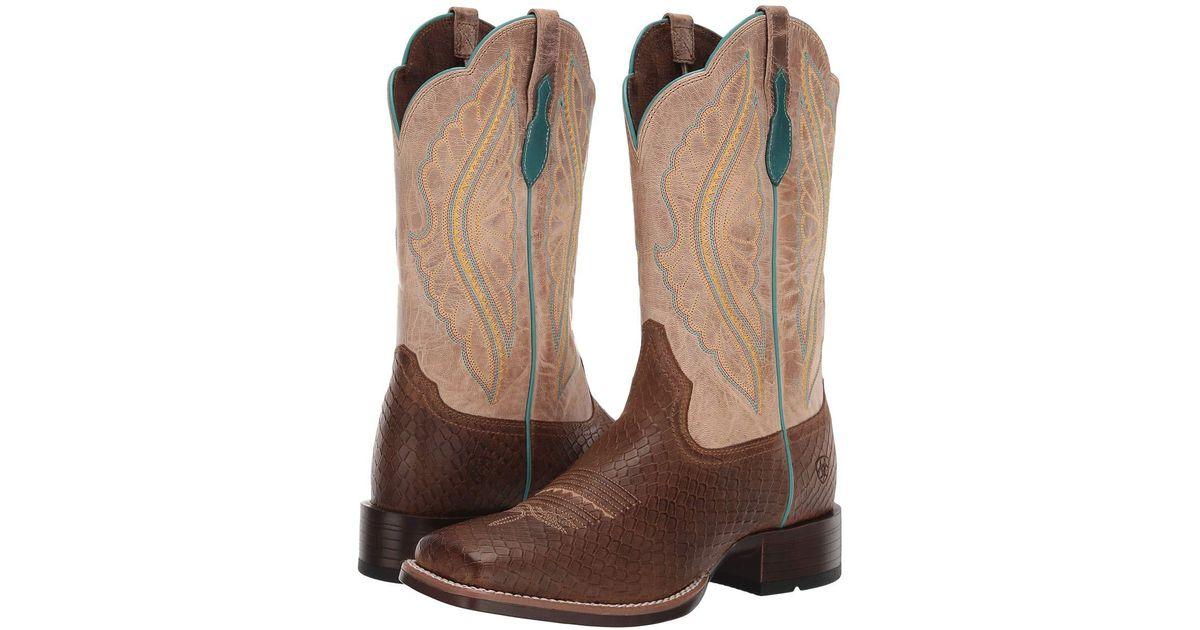 01e47a8ca2c Ariat - Primetime (limousine Black/black Rose) Cowboy Boots - Lyst