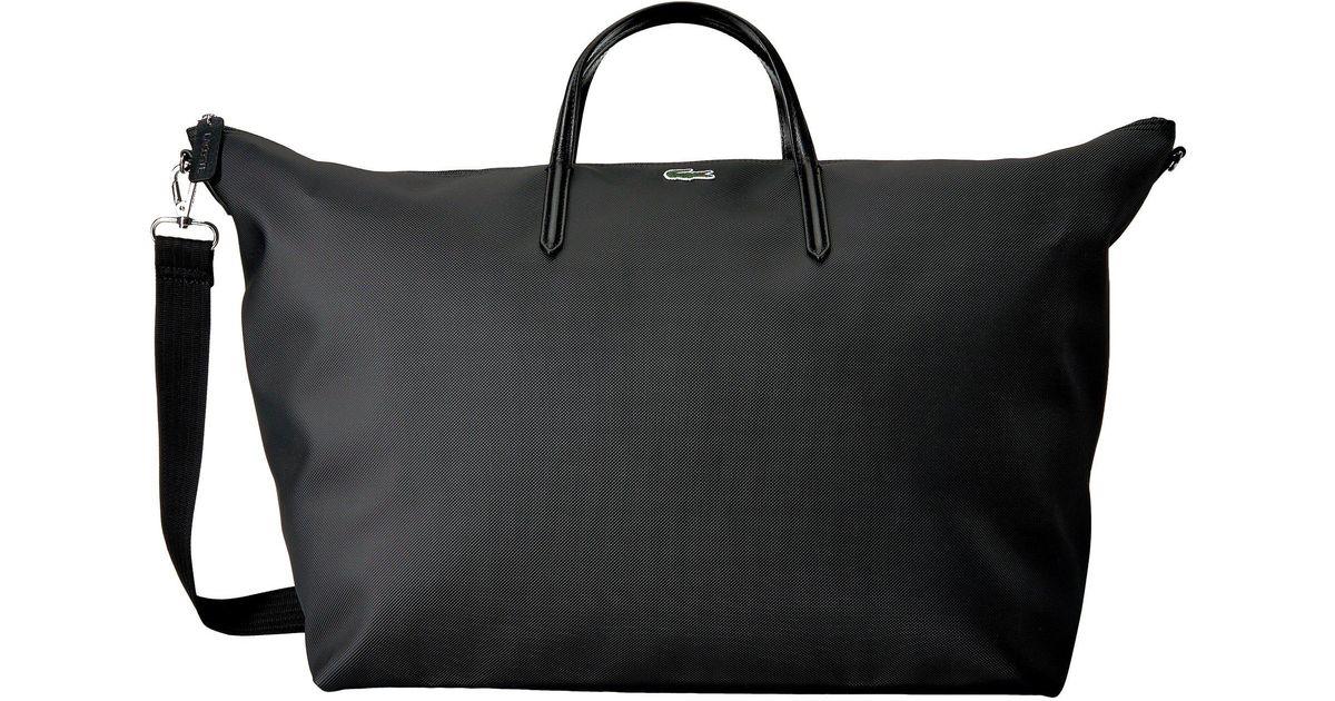 black Shopping 12 Lyst L 12 Travel Bag Handbags Concept Lacoste qPpPaR