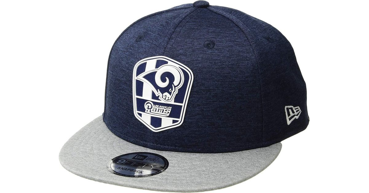 buy online ff93c 1f829 Lyst - KTZ 9fifty Official Sideline Away Snapback - Los Angeles Rams in Blue  for Men - Save 48%