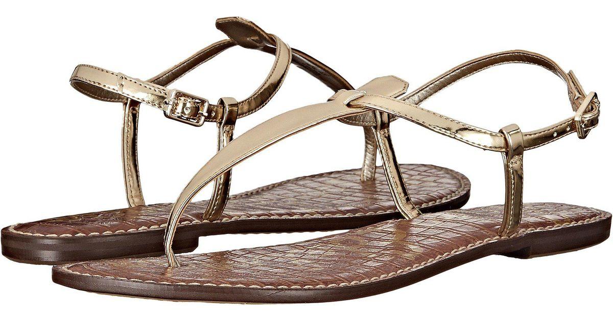19ff11898d05 Lyst - Sam Edelman Gigi (black Small Sequins) Women s Sandals in Brown