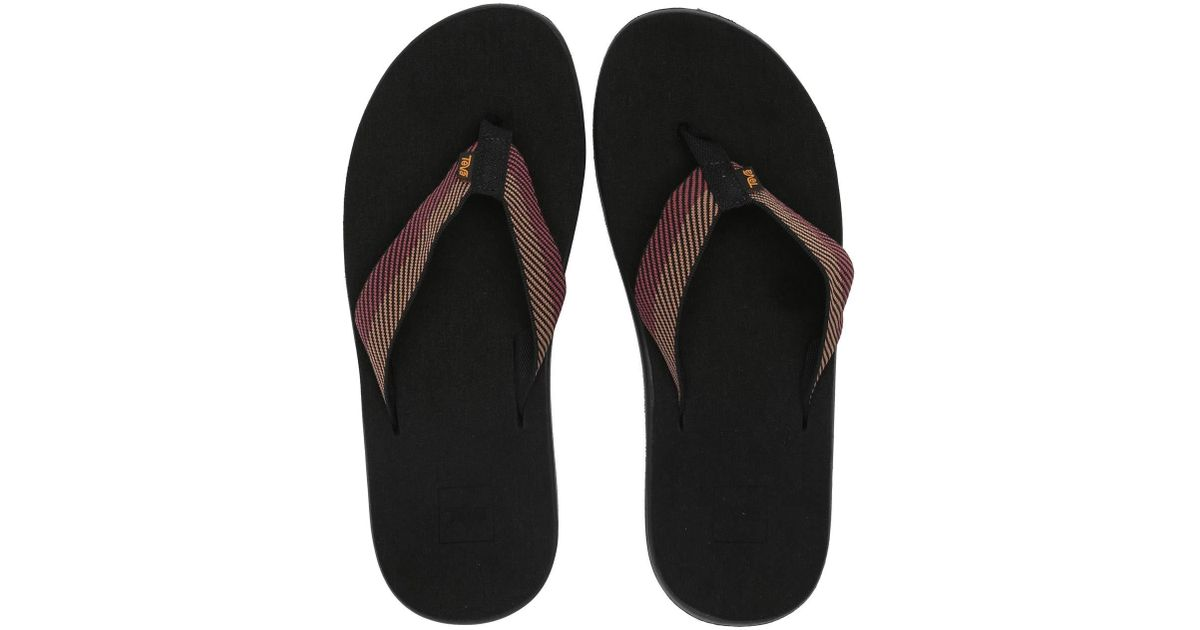 032b723d73fd Lyst - Teva Voya Flip (cole Insignia Blue) Men s Sandals in Black for Men