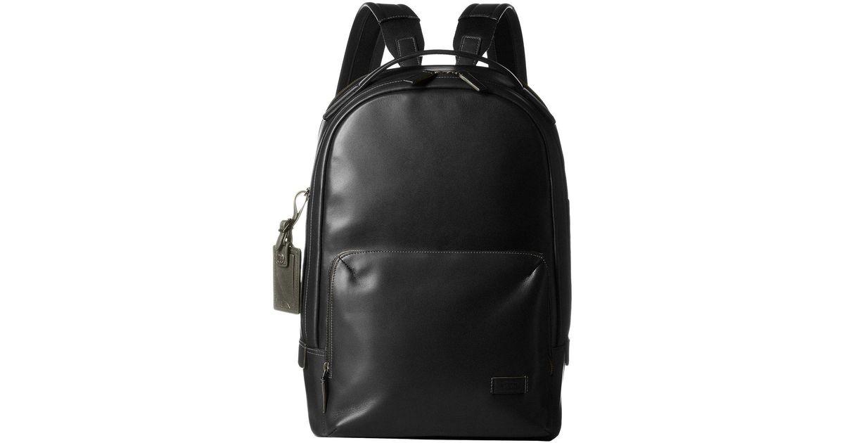 Lyst - Tumi Harrison Webster Backpack in Black for Men e6b88f34bb29d