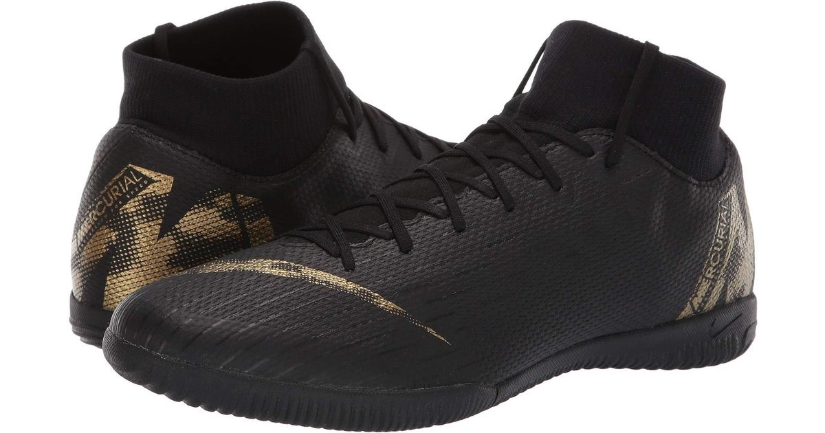 e30a3d1ce8f Lyst - Nike Superflyx 6 Academy Ic (dark Grey black opti Yellow) Men s Soccer  Shoes in Black for Men