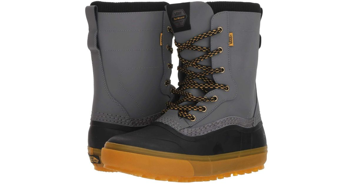 11cdca283d Lyst - Vans Standardtm Snow Boot  18 (brown white) Men s Snow Shoes for Men