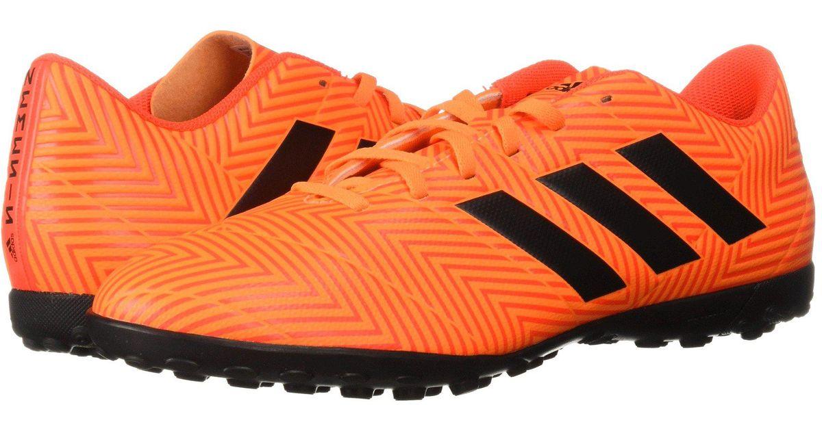 b0c476e7b adidas Nemeziz Messi Tango 18.4 Tf in Orange for Men - Lyst