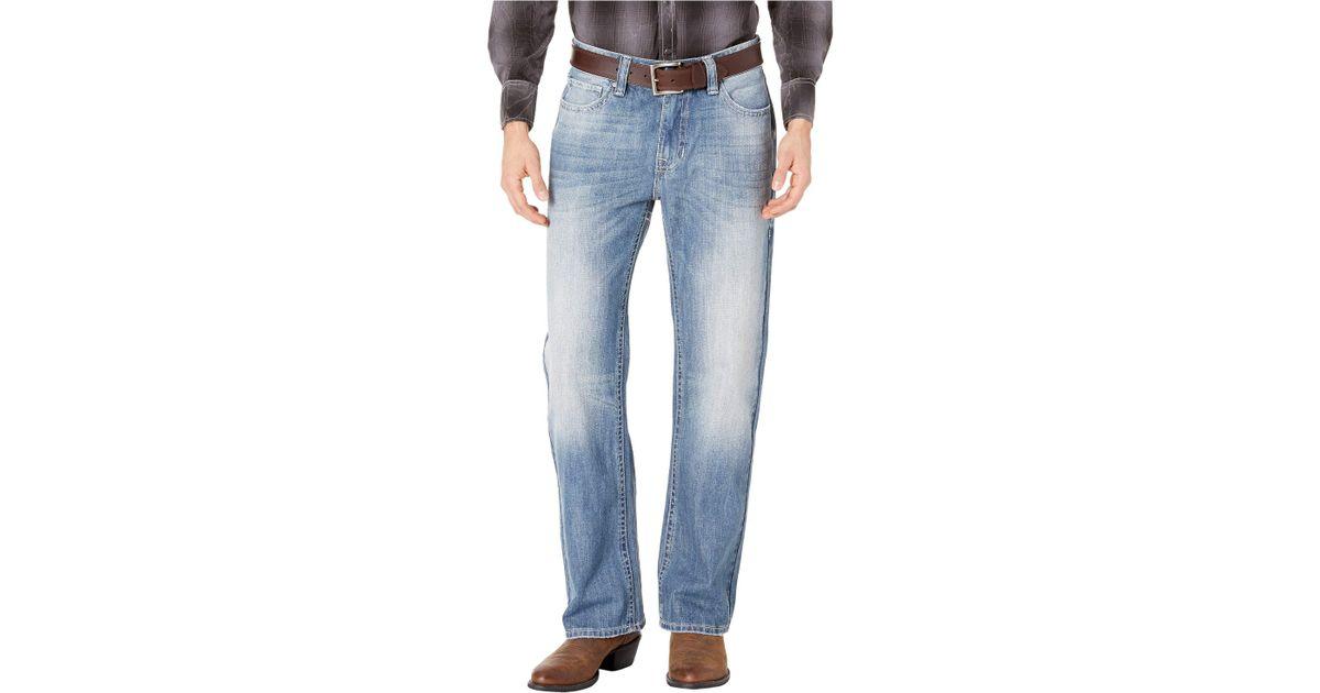 Rock and Roll Cowboy Men/'s Pistol Light Vintage Straight Jeans M1P8667