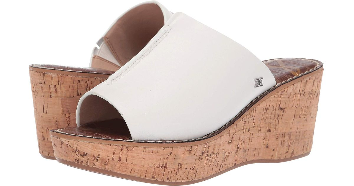 28c78cecbab5 Lyst - Sam Edelman Ranger (bright White Casual Leather) Women s Shoes