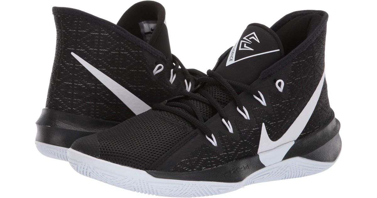 0d0124f4683db Nike Zoom Evidence Iii (black/white/black) Basketball Shoes in Black for Men  - Save 14% - Lyst