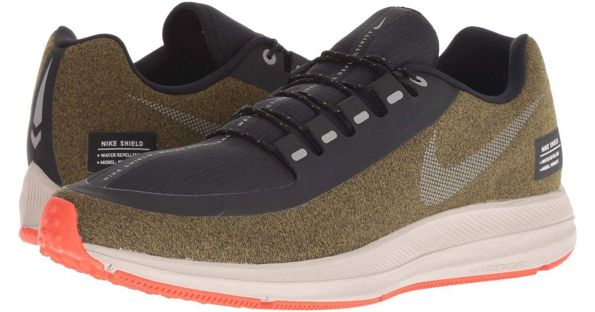 c5ba80c0808 Lyst - Nike Air Zoom Winflo 5 Run Shield (black metallic Silver hyper  Royal) Men s Running Shoes in Metallic for Men