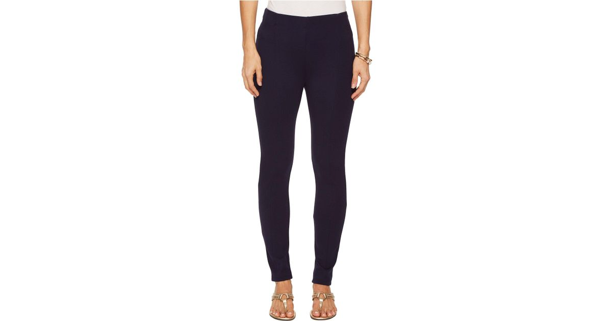 770a3ff956dfc5 Lyst - Lilly Pulitzer Nira Travel Leggings (midnight Navy) Women's Casual  Pants in Blue