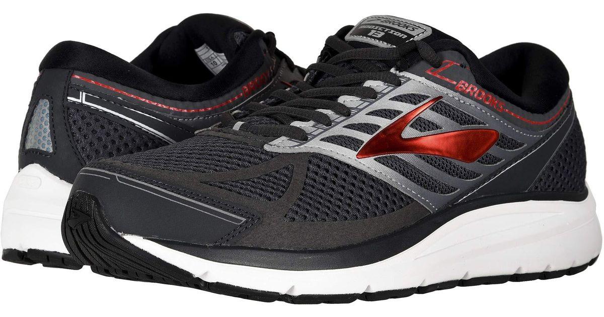 c7e9e9292d0 Lyst - Brooks Addiction 13 (black ebony metallic Gold) Men s Running Shoes  in Black for Men