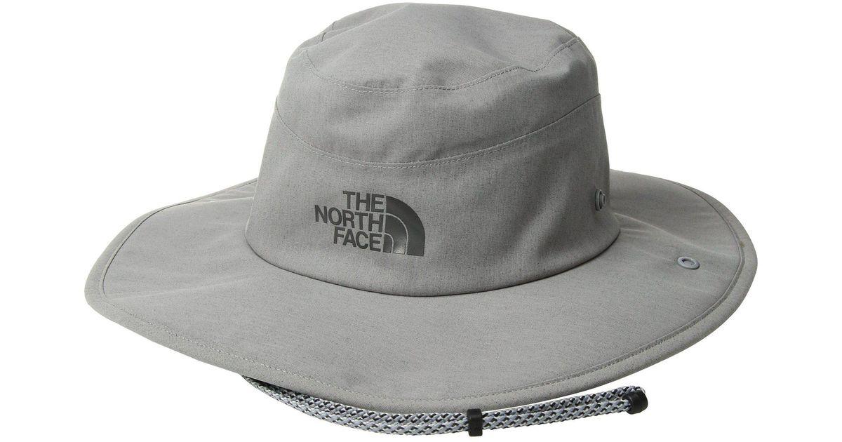 05b823bea9c Lyst - The North Face Gtx(r) Hiker Hat (dune Beige zinc Grey) Caps in Gray  for Men