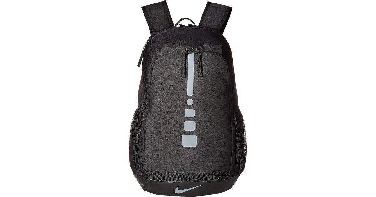 promo code 9e809 42604 Nike Hoops Elite Varsity Basketball Backpack in Black for Men - Lyst