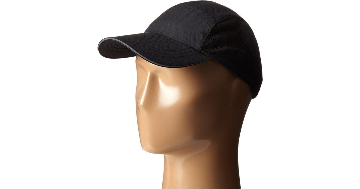 Lyst - San Diego Hat Company Cth8020 Running Cap With Vented Mesh Side  (black) Baseball Caps in Black b9c84b1a15c
