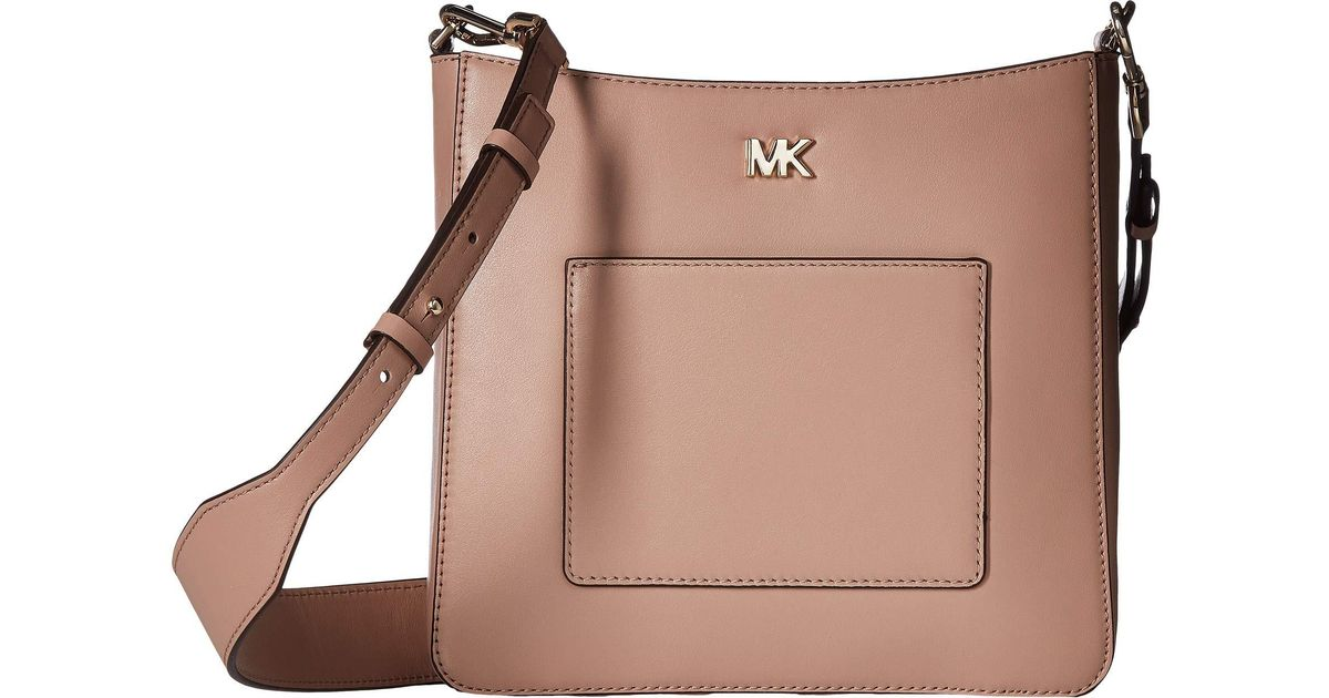 e88d0f3f992b Lyst - MICHAEL Michael Kors Gloria Pocket Swing Pack in Brown - Save 8%