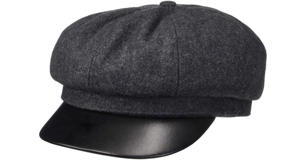 super popular 52b8d 28397 Brixton Montreal Cap (grey black) Caps for Men - Lyst