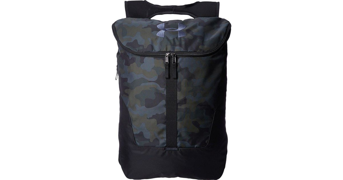 d0ef51d232 Lyst - Under Armour Ua Expandable Sackpack in Black for Men