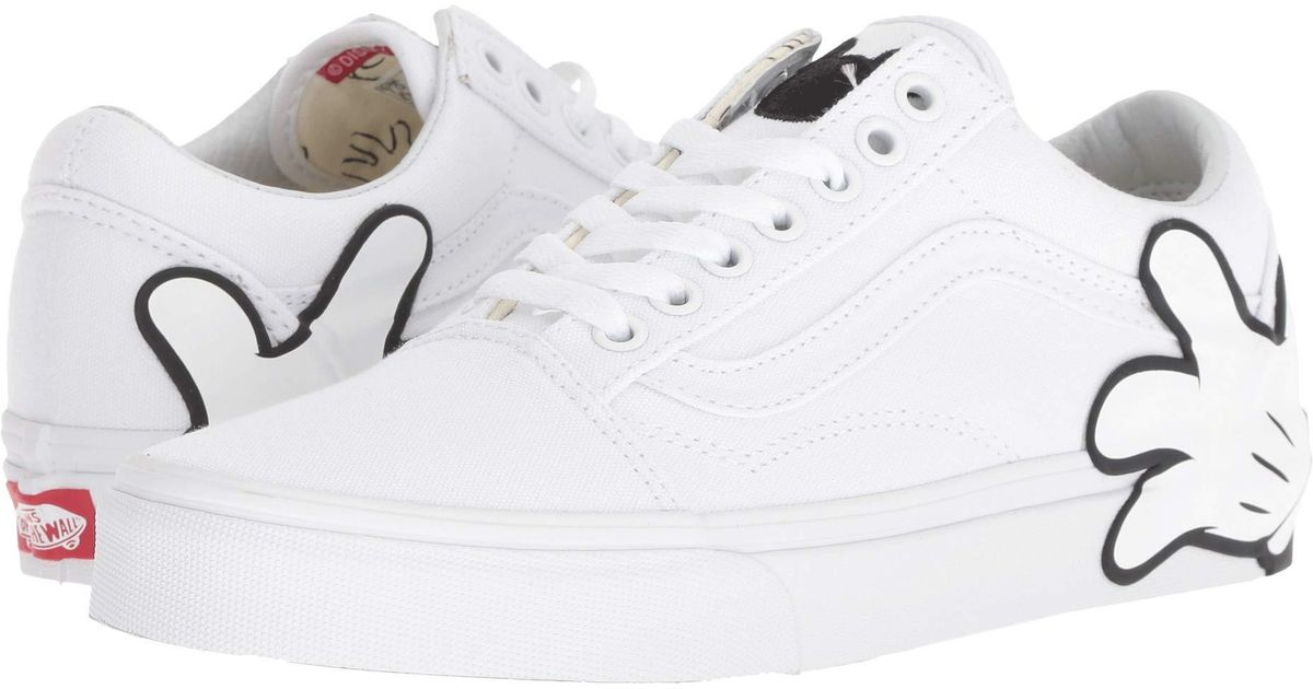 81277d1082 Lyst - Vans Mickey s 90th Disney(r) Old Skool ((disney) Mickey Mouse Club  black) Skate Shoes in White for Men